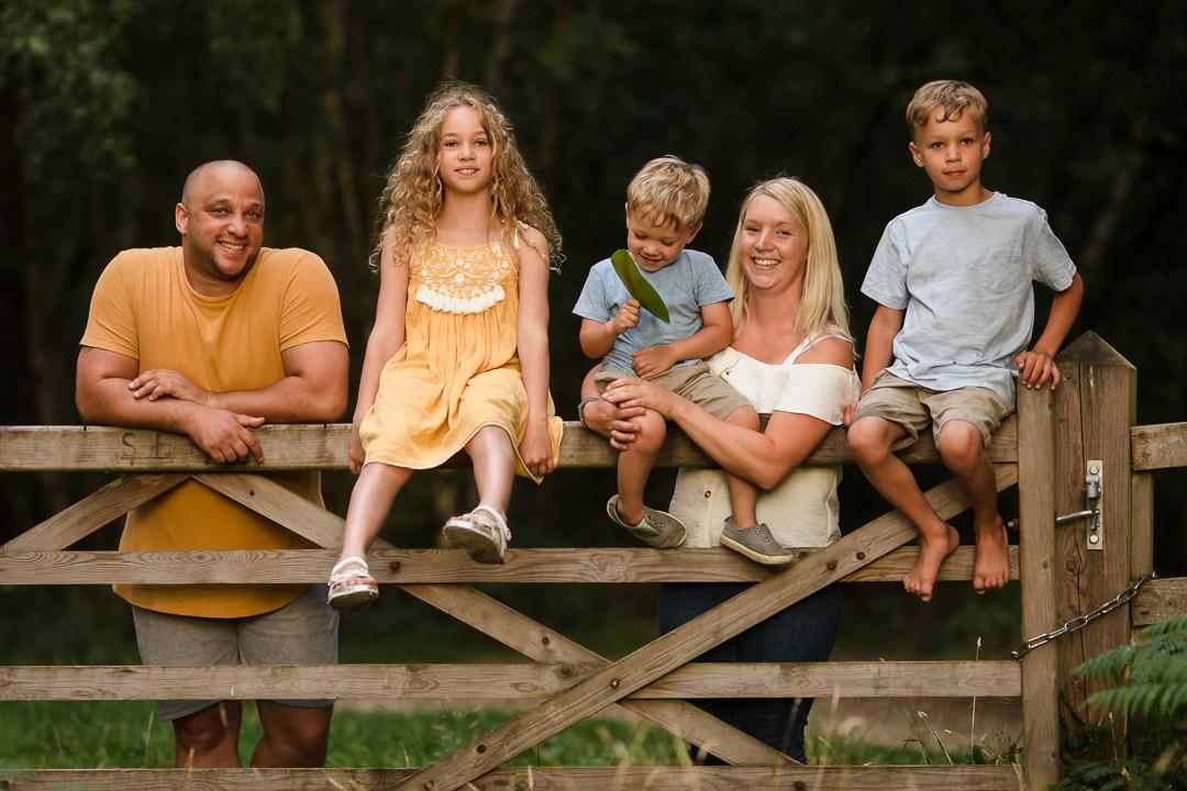 Family photo shoot in Reading Berkshire