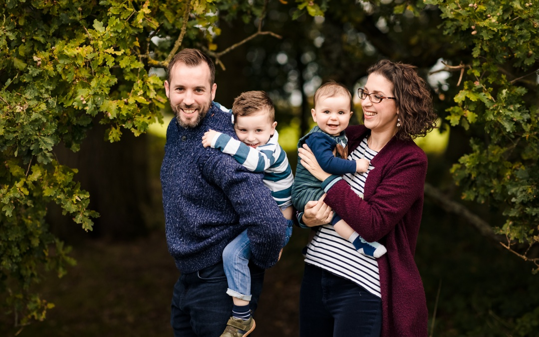 Autumn Photo Shoot near Sulham // Hazel, Mark, Fraser + Hugo