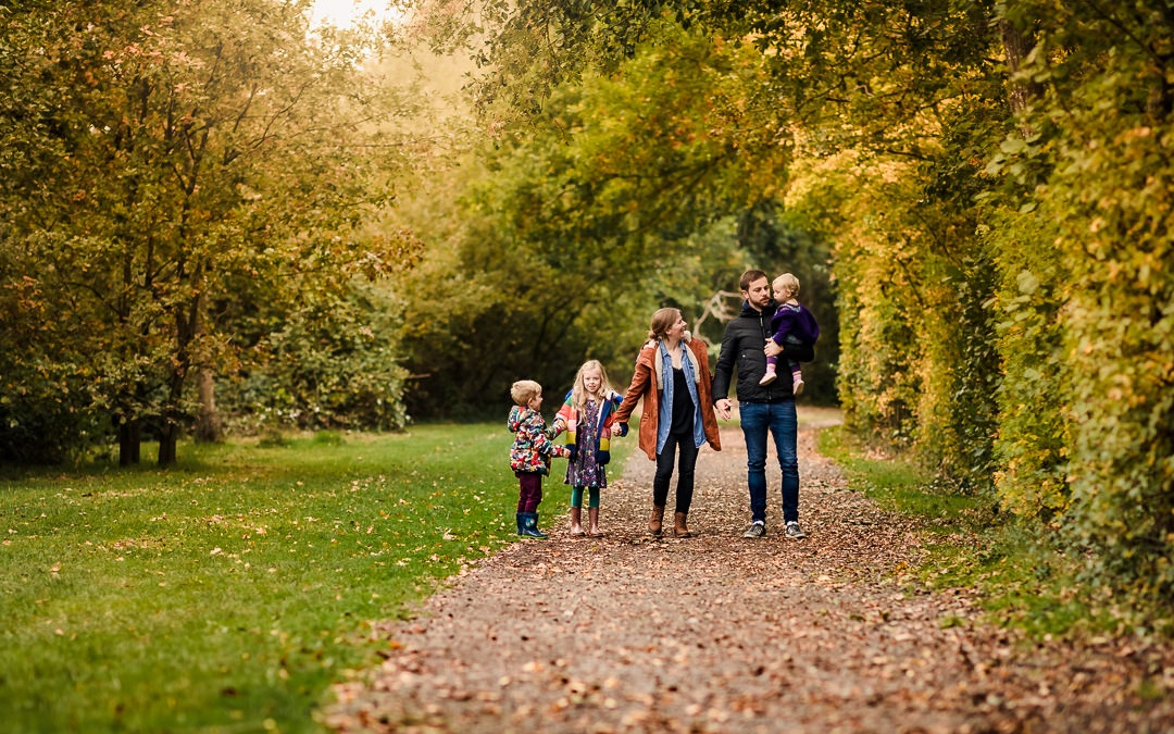 Dinton Pastures Country Park Autumn Photo Shoot