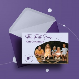 The Full Story Photography Gift Certificate