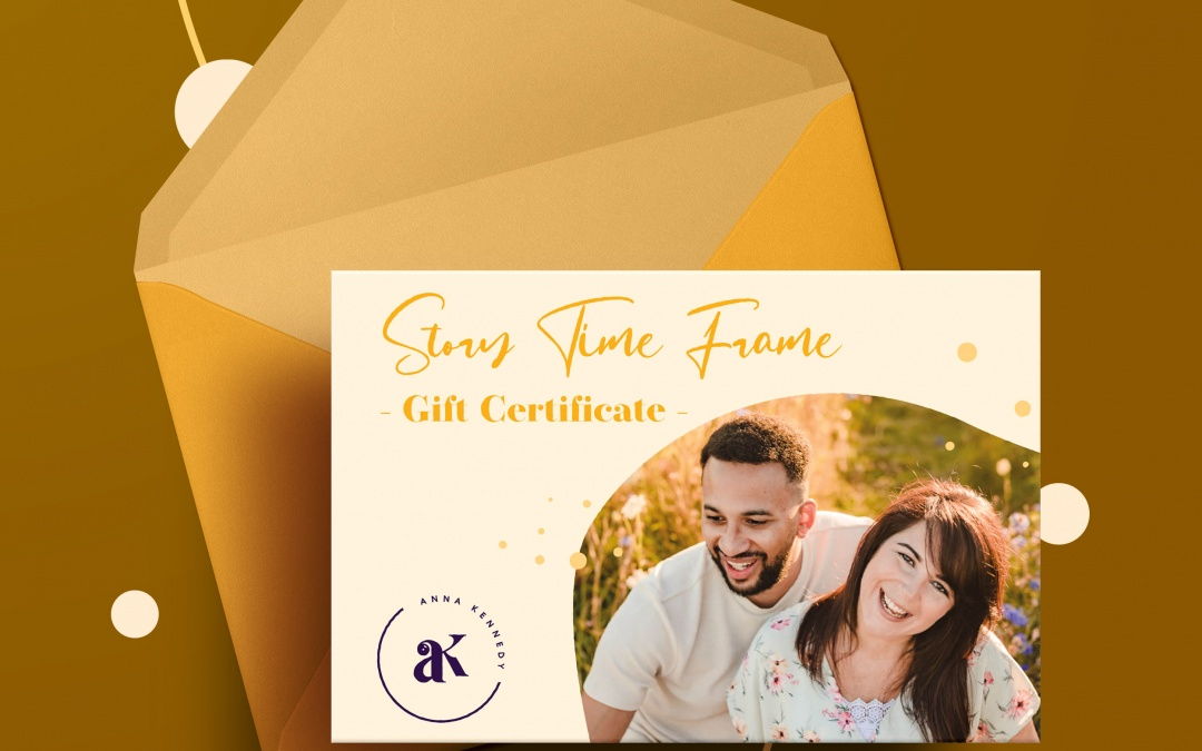 Story Time Frame Gift Certificate