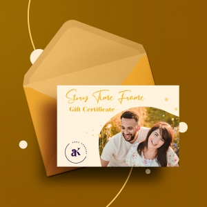Story Time Frame Photography Gift Certificate