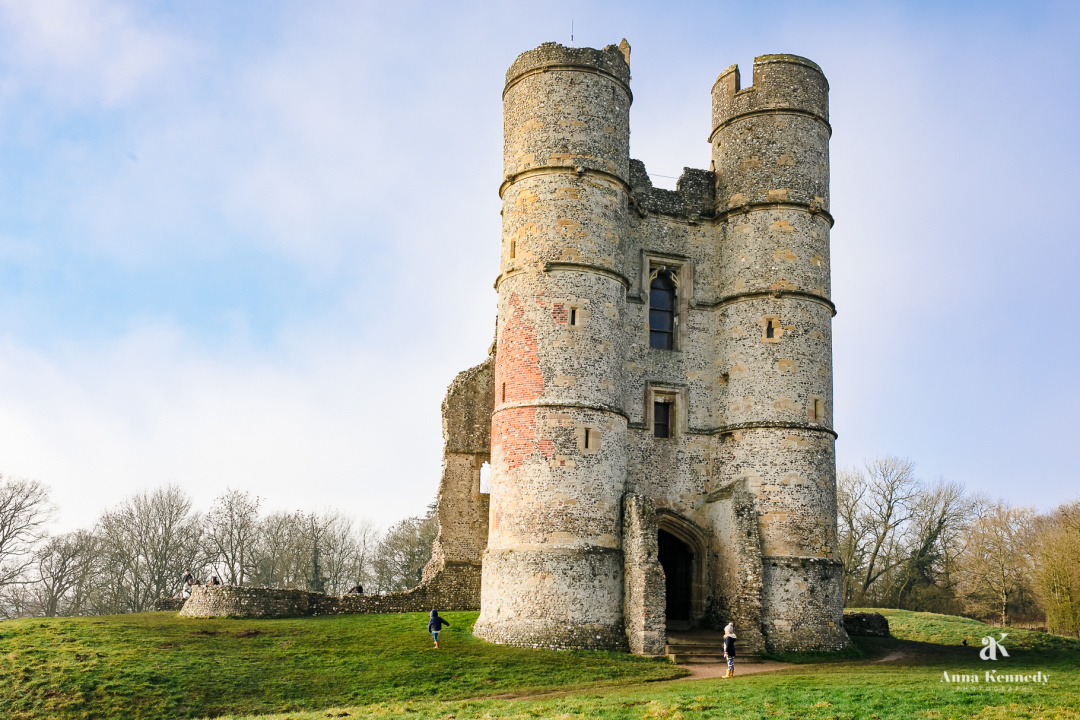 Photograph of Donnington Castle near Newbury