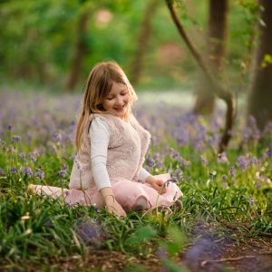 Spring Bluebell Mini Session Reading Berkshire